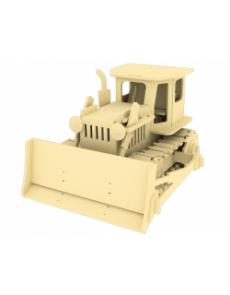 Дървен конструктор - Булдозер – 179 части