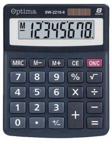 Настолен калкулaтор Optima, SW-2210-8A, 8 разряда
