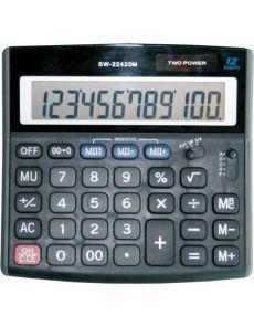 Настолен калкулaтор Optima, SW-2242DM, 12 разряда