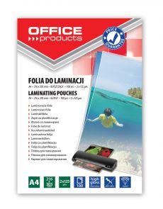 Фолио за ламиниране OP А4, 216x303mm,125микрона опаковка 100