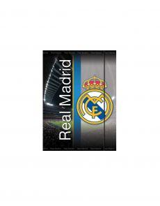 Папка с ластик FC Real Madrid, A4, 1 cm