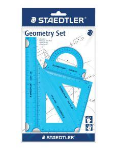 Геометричен комплект Staedtler 20cm, 4 части