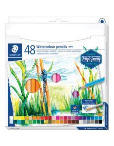 Акварелни моливи Staedtler Design Journey, 48 цвята