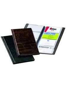 Визитник Durable Visifix 2380-01 за 96 визитки, черен