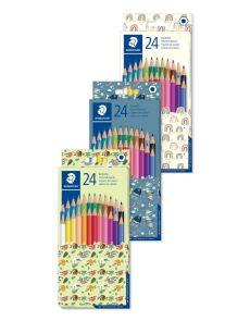 Цветни моливи Staedtler Pattern 175, 24 цвята