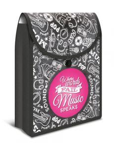 Чанта Herma Flexi Bag, PP, черна/розова