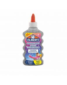 Течно лепило Elmer's Glitter Glue, 177ml, сребрист