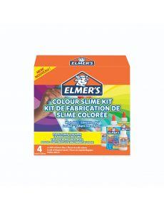 Комплект за слайм Elmers, прозрачни цветове