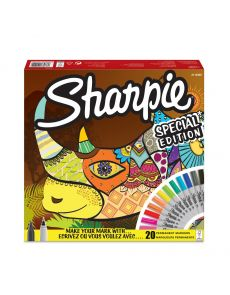 Комплект перманентни маркери Sharpie Rhino, 20 броя