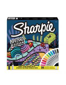 Комплект перманентни маркери Sharpie Tortoise, 20 броя