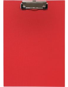 Клипборд без капак Optima, А4, PP, червен