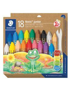 Пастели Staedtler Noris Junior 224, 18 цвята