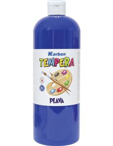 Темперна боя Karbon, 1000мл в бутилка, синя