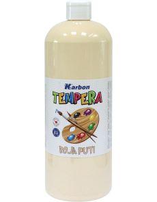 Темперна боя Karbon, 1000мл в бутилка, телесна