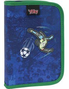 Несесер Sky Football, 1 цип, 1 пр, 20,5x14,5x4cm