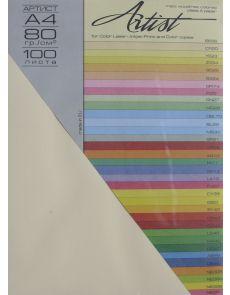 Копирна хартия Artist Color А4 80g, 4х25л. пастел