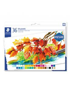 Маслени пастели Staedtler Design Journey, 36 цвята