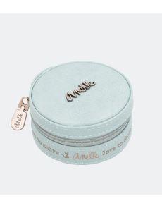 Кутия за бижута Anekke, малка, 10х4,5х10см, синя