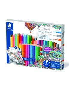 Комплект Staedtler All-in-One за оцветяване, 112 части