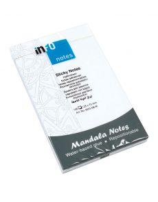 Самозалепващи листчета Info notes Mandala 125x75mm