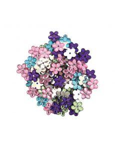 Декорации Uniline Hobby&Craft, акрилни цветя