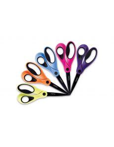 Ножици Dahle ColorID, 21 cm, оранжеви