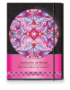 Папка с ластик Catalina Estrada A4, 1 cm