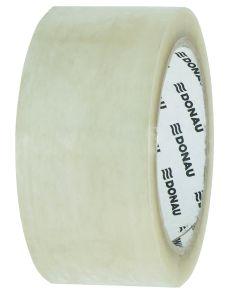 Опаковъчна лента Solvent Donau 48mm х 60m, прозрачно