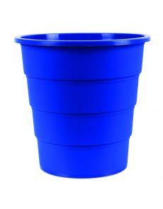 Кош за отпадъци Office Products, 16л, син