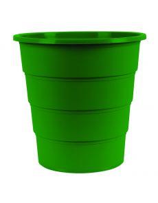 Кош за отпадъци Office Products, 16л, зелен