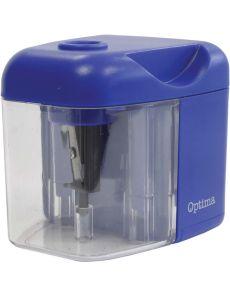 Настолна електрическа острилка Optima, синя