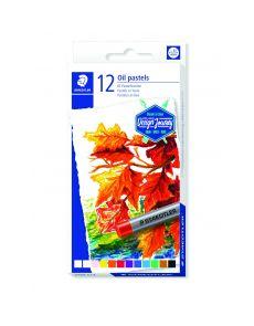 Маслени пастели Staedtler Design Journey, 12 цвята
