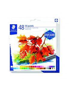 Маслени пастели Staedtler Design Journey, 48 цвята