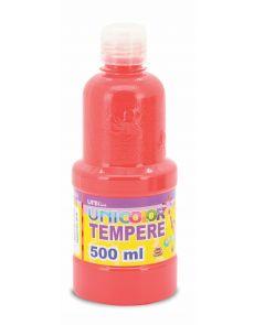 Темперна боя Uniline, 500мл в бутилка, розова