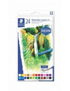 Акварелни пастели Staedtler Design Journey, 24 цвята