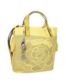 Чанта Kimmidoll Kazuna, 24x12x28 cm, жълта