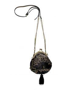 Чанта Dogs by Beluchi 29430, 17x17,5 cm, черна