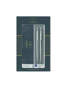 Комплект Parker Royal Jotter Stainless Steel CT, Химикалка и Автоматичен молив