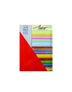 Копирна хартия Artist Color 80g опаковка 100 ст.злато 10
