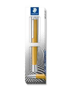 Химикалка Staedtler Triplus 444, златиста