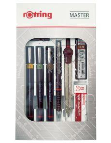 Комплект Rotring Master Set изографи 0.2, 0.3, 0.5mm