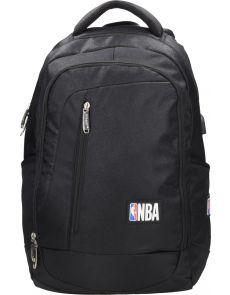 Раница NBA, 38х15х48 cm, черна