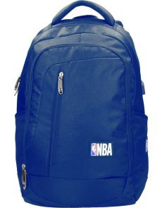 Раница NBA, 38х15х48 cm, синя