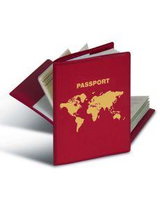 Калъф за паспорт Herma, червен