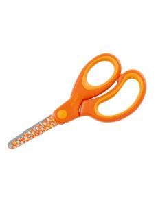 Детска ножица Dahle с гумирана дръжка, 13см, оранж