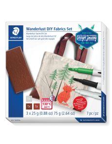 Комплект за рисуване Staedtler DJ Fabrics, 7 части