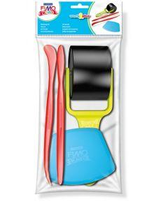 Комплект инструменти Fimo Kids за моделиране, 4 бр