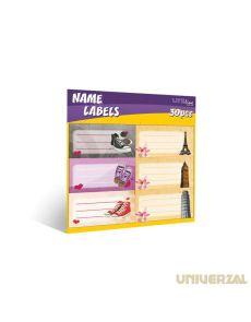Етикети за тетрадки Uniline, оп.30, Urban