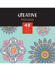 Книжка за оцветяване, 15x15cm, 48 стр.