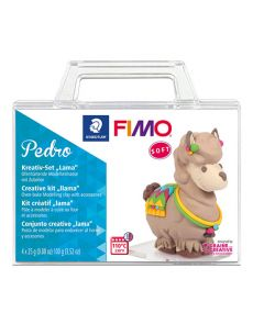 К-т глина Staedtler Fimo Soft, 4x25g, лама
